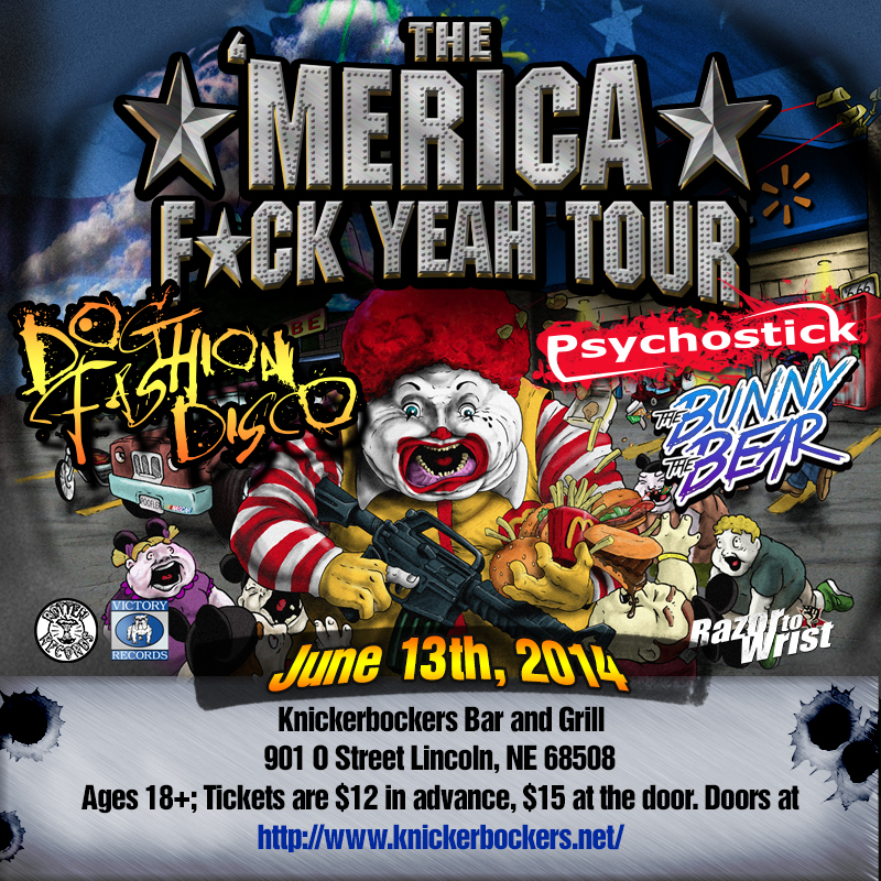 Psychostick Psychostick Tour Shows