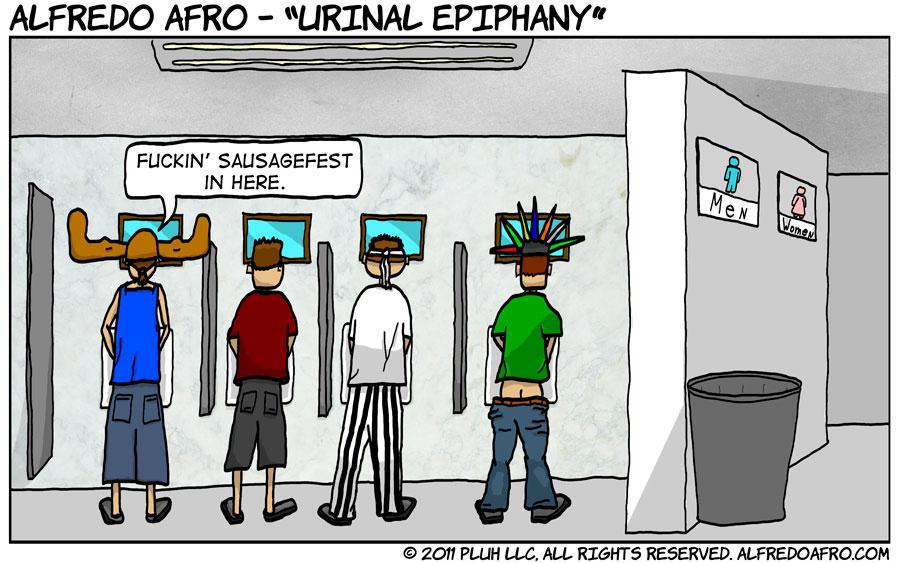 Urinal Epiphany