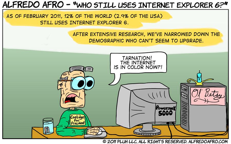 Who Still Uses Internet Explorer 6?