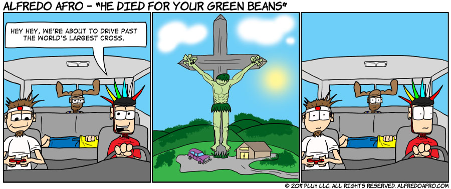 He Died For Your Green Beans