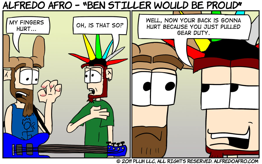 Ben Stiller Would Be Proud