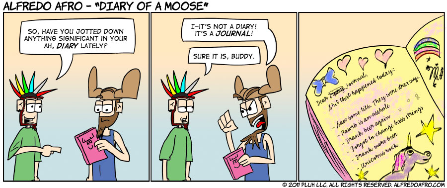 Diary of a Moose