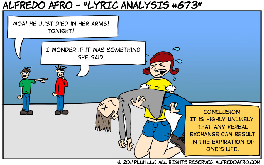 Lyric Analysis #673