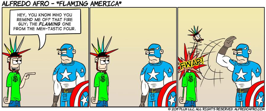 Flaming America