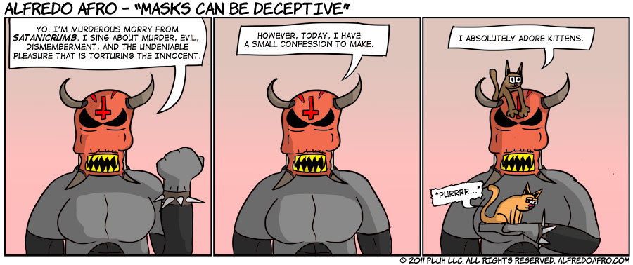 Masks Can Be Deceptive
