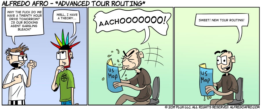 Advanced Tour Routing