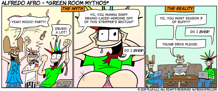 Green Room Mythos