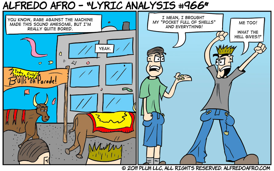 Lyric Analysis #966