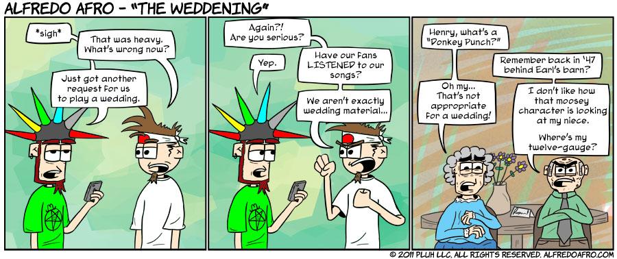 The Weddening