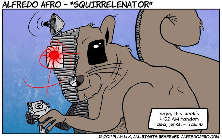 Squirrelenator