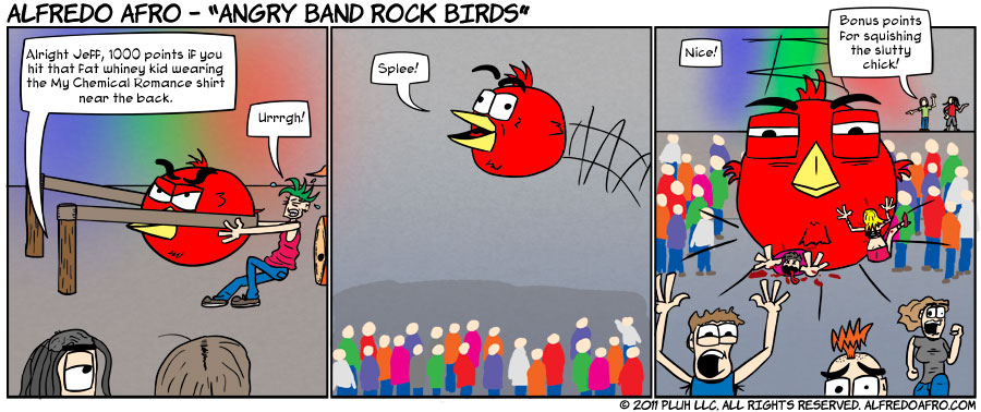 Angry Band Rock Birds