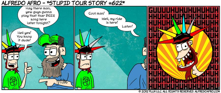 Stupid Tour Story #622