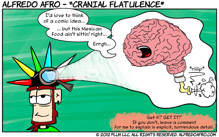 Cranial Flatulence