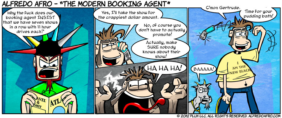 The Modern Booking Agent