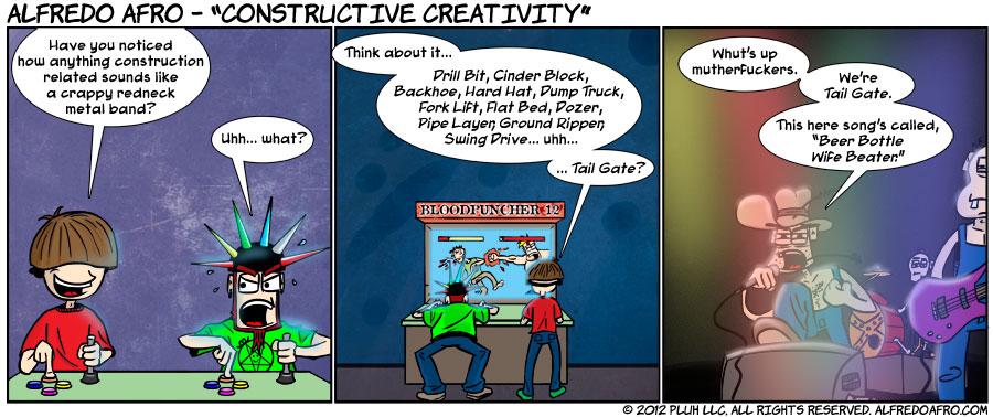 Constructive Creativity