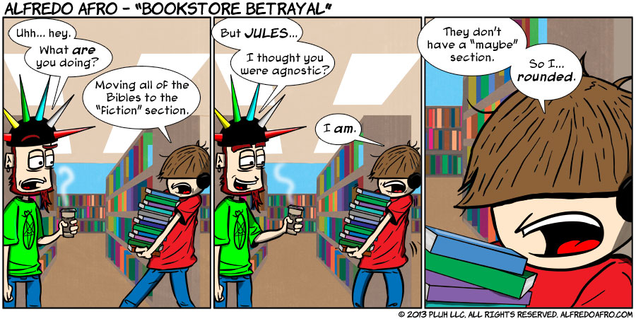 Bookstore Betrayal