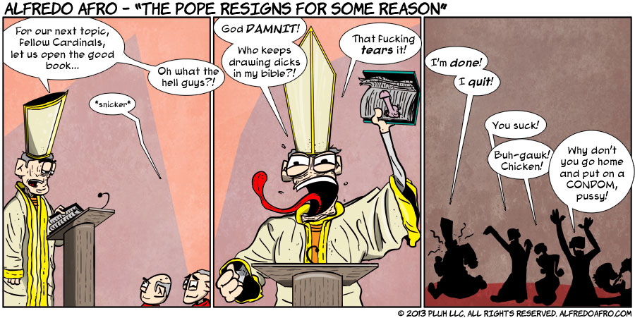 The Pope Resigns For Some Reason