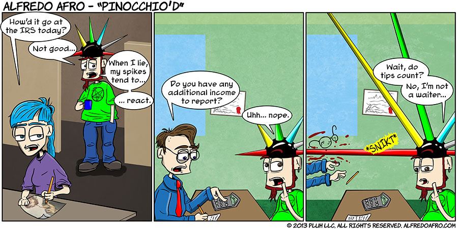 Pinocchio'd