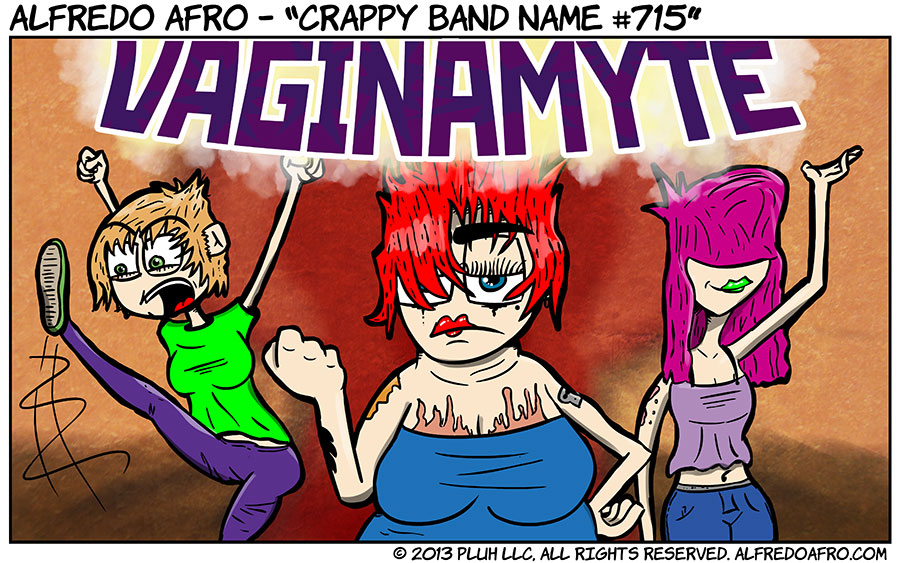 Crappy Band Name #715
