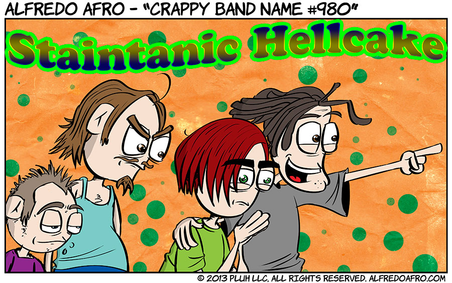 Crappy Band Name #980