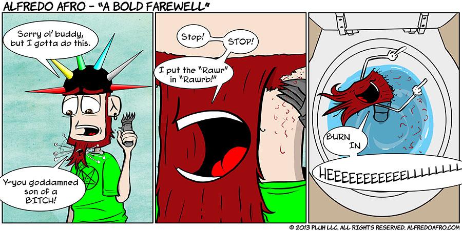 A Bold Farewell