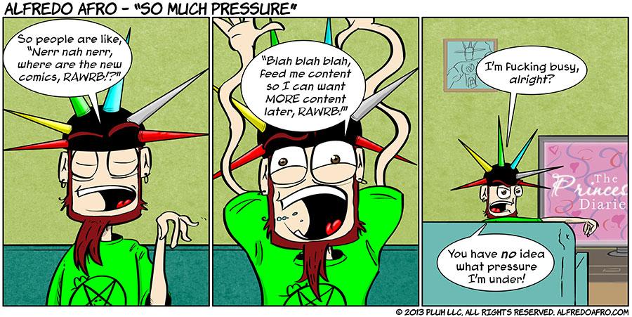 So Much Pressure