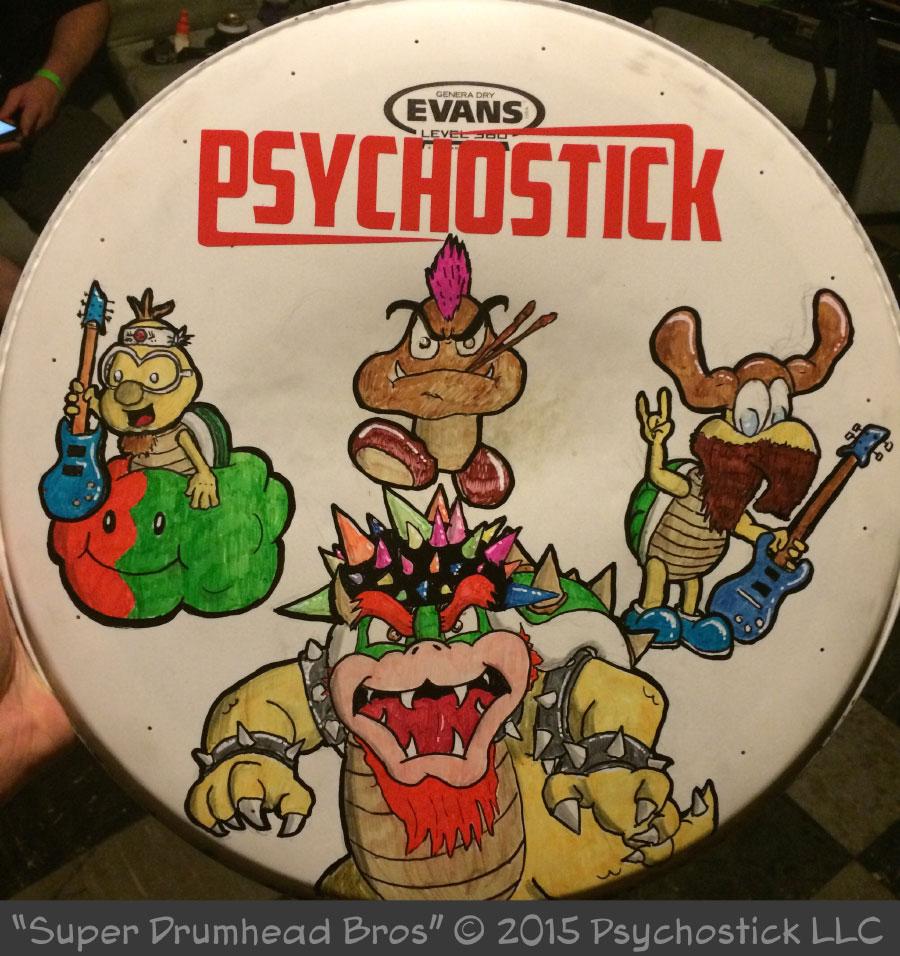 Super Drumhead Bros