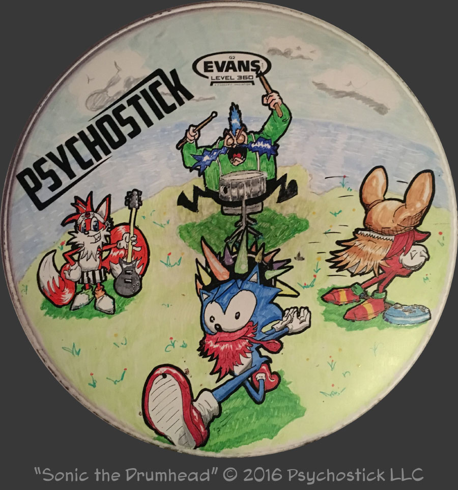 Sonic the Drumhead