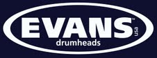 Evans - Alex's official drumhead company!
