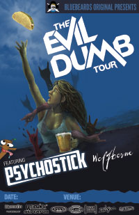 Evil Dumb Tour Main Poster