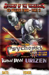 Revenge of the Vengeance Tour Part 2 Main Poster